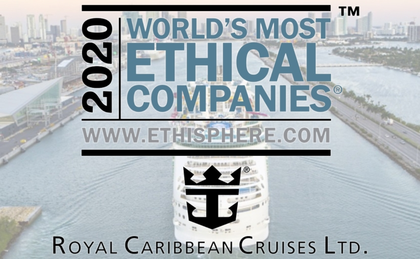 Royal Caribbean Cruises Named One Of World's Most Ethical Companies For 5th Time